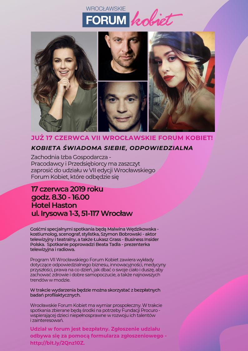 Zaproszenie VII Wrocławskie Forum Kobiet